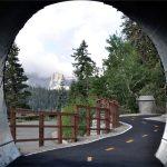 Bike Path at Chair 15 Tunnel
