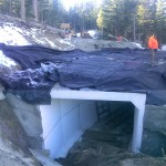 Box Culvert Crossing at Twin Lakes