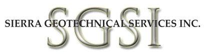 Sierra Geotechnical Services Inc. - SGSI