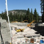 Cast-In-Place Pad Footings